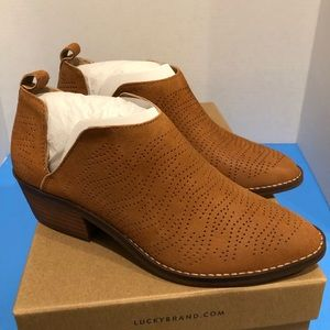New Lucky Brand Fayth Ankle Bootie
